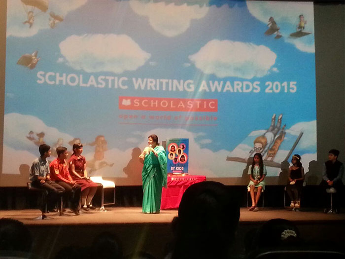 scholastic student writing awards india