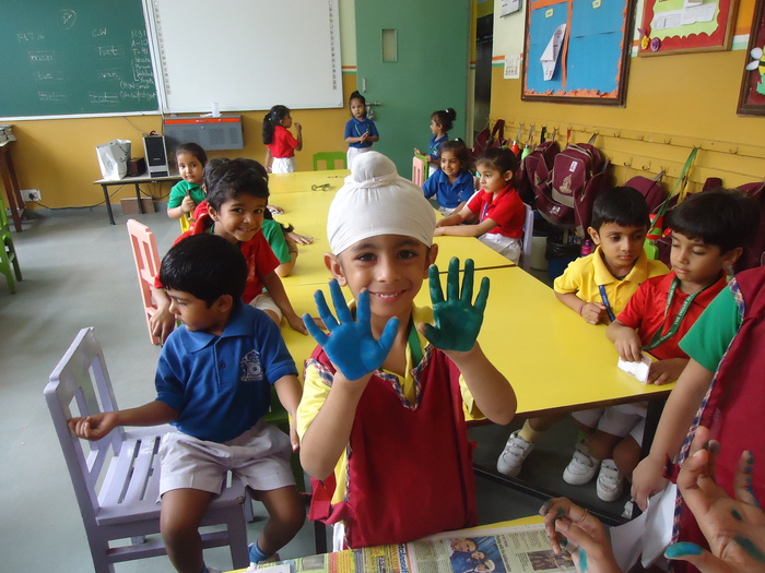 Pre Primary Classroom Decoration ~ Environment week in pre primary the indian school