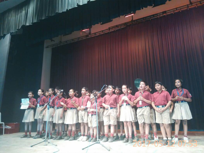 Special Assembly -Hindi poems by class 5 | The Indian School