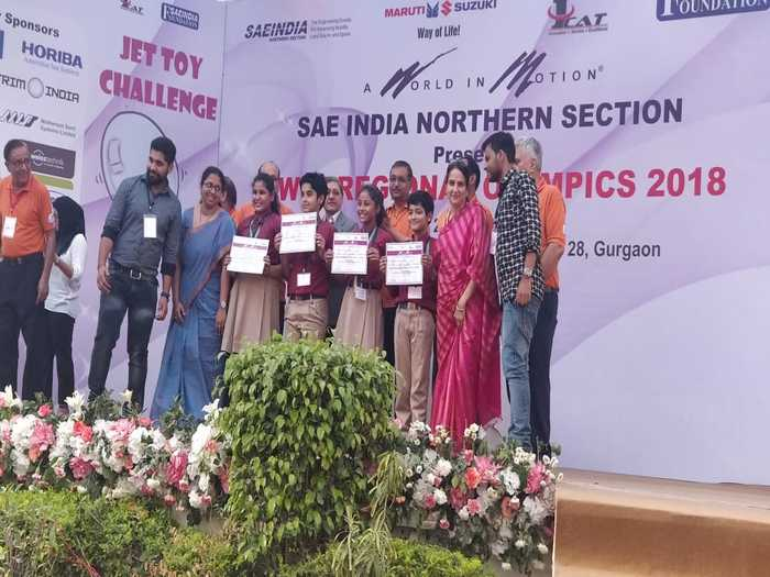 Honours at the Jet Toy and Skimmer Regional Olympics | The Indian School