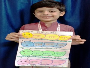 Mohd Aariz Farooqui- Hindi Activity