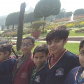 Class 2 visits the Mughal Gardens