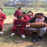 Class 3 spends a day at the School eco park