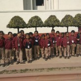 Excursion to the Mughal Gardens for class 1