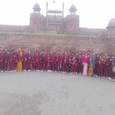 Excursion to the Red Fort- classes 6 and 7