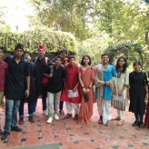 Honour at StageKraft-2018- inter school competition at Sanskriti School