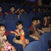 Pre primary classes at the movies!