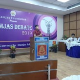 Ramjas inter-school Hindi Debate, class 11