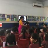 Class 3E Skype classroom with a Vietnamese Teacher