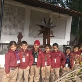 Visit to Gandhi Smriti, class 1