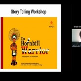Story telling workshop for Classes 5 and 6