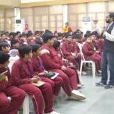 Workshop on gender sensitisation for boys