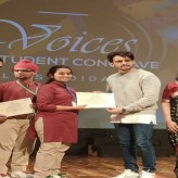 Honours at 'Voices-2019'  – inter school student conclave