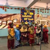 Special assembly for Guru Nanak Jayanti by PS Hercule