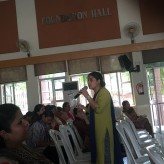 Teacher workshop on Happy Classrooms