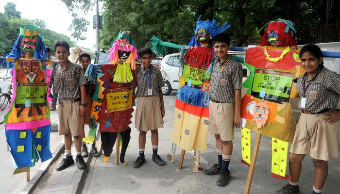 SCARECROWS ACTIVITY, CLASSES 6 TO 8