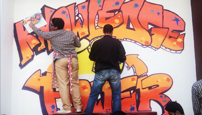 GRAFFITI, CLASS 9 TO 11
