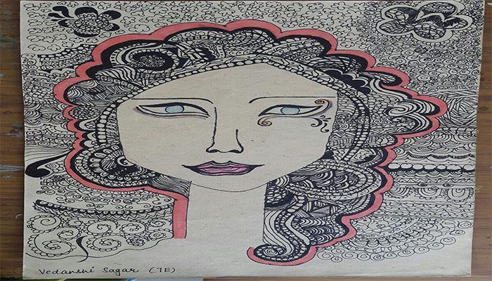 ZANTANGLE ART BY VII VIII