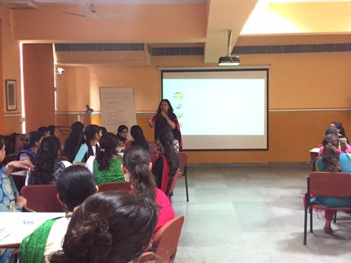 Principal's workshop for teachers on classroom management